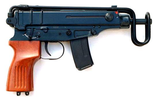 Subfusil Skorpion VZ 61